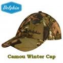 Delphin Camou Winter Cap téli baseball sapka beépített lámpával